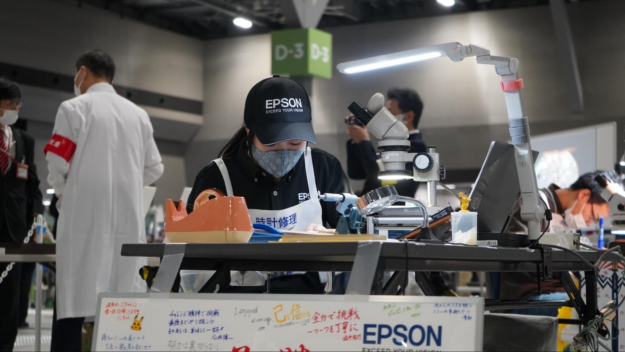 【金賞】 時計修理 後藤 玲子 セイコーエプソン株式会社 諏訪市